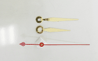 Brass Sword Clock Hands | Bear Woods Supply