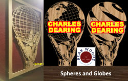 Scroll Saw Patterns of globes and spheres