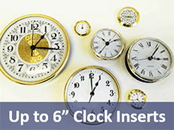 Clock Inserts and fit-ups | Bear Woods