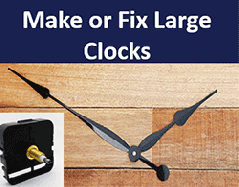 Clock Repair Parts for large wall clocks