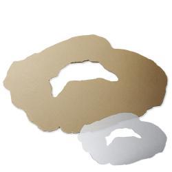 crescent acrylic geode