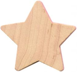 wooden star cut-outs, wood stars