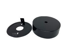 2 Piece Mounting Cup for C Cell Clock Motors - Mount clocks to any wall directly!