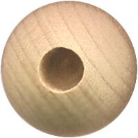Wood dowel caps for dowel rods
