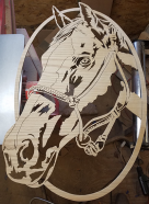 Charles Dearing Horses Scroll Saw Patterns