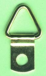 d-ring picture hangers,brass plated picture hangers, small d-ring hangers
