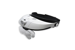 Magnification Headband with LED lights