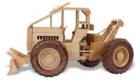 Log Skidder Woodworking Pattern by Toys and Joys | Bear Woods Supply