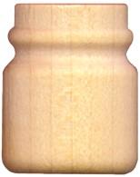 wood mason jar