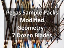 Pegas Modified Geometry Sample Packs