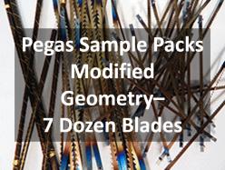 Pegas Scroll Saw Blades Sample Pack