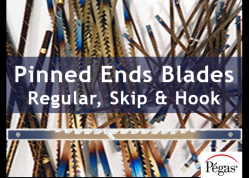 Scroll Saw Blades Pinned Ends by Pegas