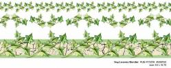 Ivy Leaves Rub-On Border 5.5 x16.75 CLOSEOUT