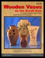 Learn to make vases on the scroll saw