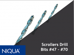 Scrollers Drill Bits by Niqua