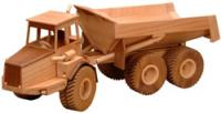 Articulated Dump Truck Woodworking Pattern | Bear Woods Supply