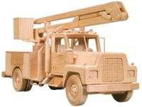 Bucket Truck Woodworking Pattern | Bear Woods Supply