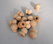 Wooden Dowel Caps 19/32 inch | Bear Woods Supply