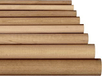 Wooden dowel rods, oak dowels | Bear Woods Supply