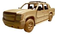 Wooden Truck Patterns Avalanche, Suburban | Bear Woods Supply