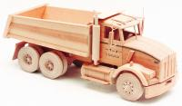 wood toy plan, toys n joys plans, dump truck woodworking pattern