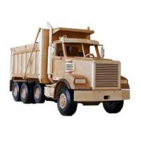 Wooden dump truck woodworking pattern | Bear Woods Supply