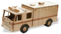 Heavy Duty Wooden Ambulance Woodworking Pattern | Bear Woods Supply