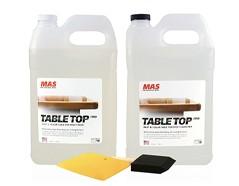 table top epoxy resin bottles