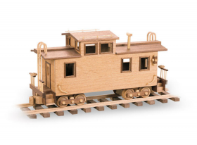 Woodworking Patterns The Caboose | Bear Woods Supply
