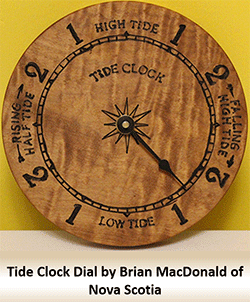 Tide Clock Movements and Dials