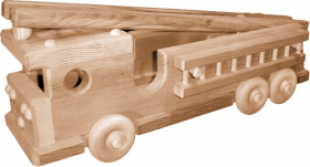 Woodworking Patterns Firetruck | Bear Woods Supply