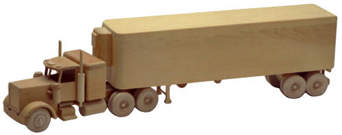 Woodworking Toys Joys : The big rig inch woodworking plan