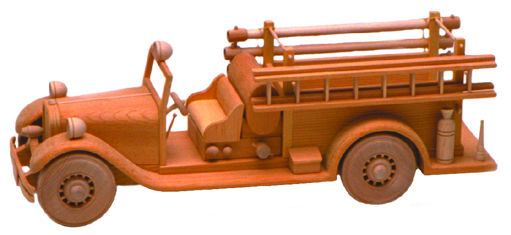 The Fire Truck Plan 17 Woodwork Plan Tj 25 - DIY ...