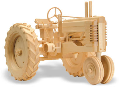 The Farm Tractor 11inch (Woodworking Plan)