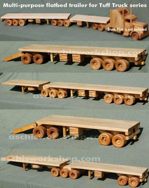 US 28ft-Double / Australian B-Double Flatbed Trailers
