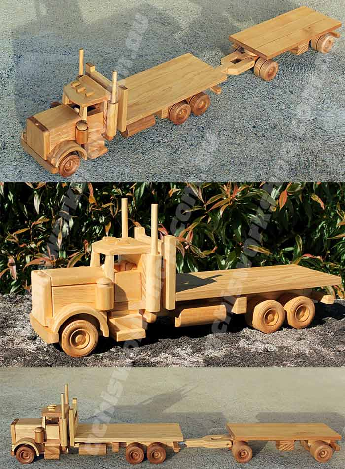 Tuff Truck Flatbed Truck and Trailer
