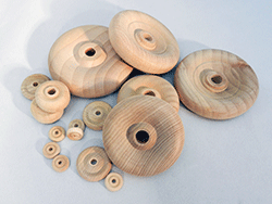 Contoured Wood Wheels | Bear Woods Supply