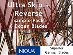 Ultra Reverse plus skip tooth scroll saw blades FDUR | Bear Woods Supply