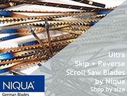 Ultra Reverse plus skip tooth scroll saw blades FDUR | Bear Woods Supply
