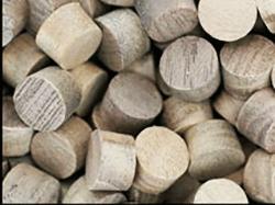 Walnut face grain wood plugs