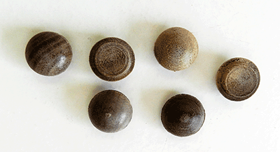 Buy Walnut Screw Hole button Wood Plugs | Bear Woods Supply