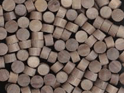 Walnut wood plugs for floors