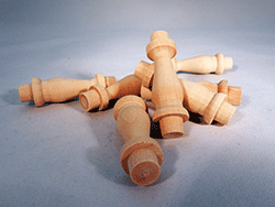 Wooden Gallery Spindles | Bear Woods Supply