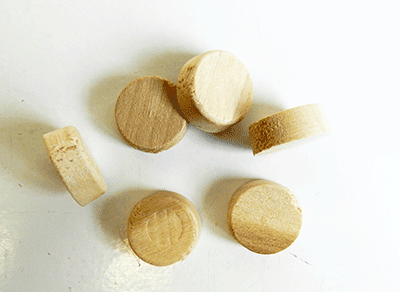 Buy Wood Side Grain Furniture- Poplar Wood Plugs | Bear Woods Supply