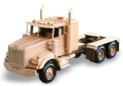 Wood truck pattern