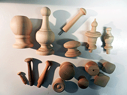 Shop for turned wood ball knobs, finials, spindles, shaker pegs | Bear Woods Supply