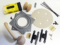 Buy wood working supplies, hinges, knobs, blades | Bear Woods Supply