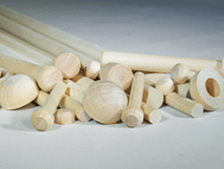 Wood Axle Pegs for Wood Toys | Bear Woods Supply