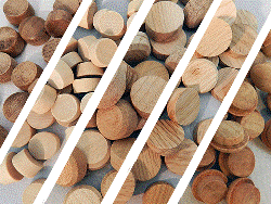 Buy wooden buttons | Bear Woods Supply
