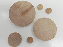 Buy wooden discs and nickels | Bear Woods Supply